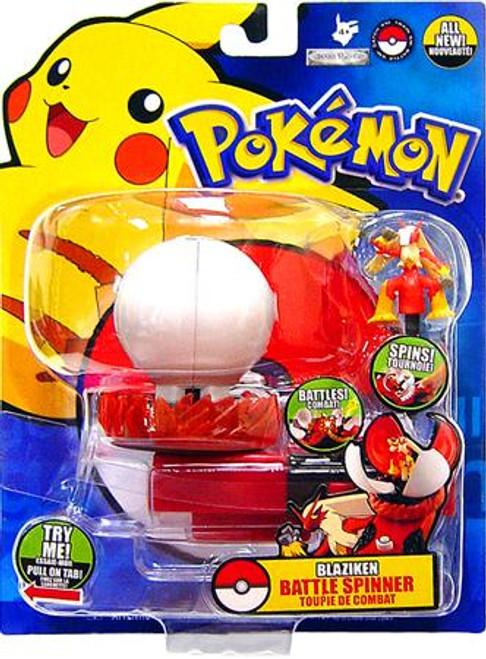 Pokemon Diamond & Pearl Battle Spinner Series 1 Blaziken Figure