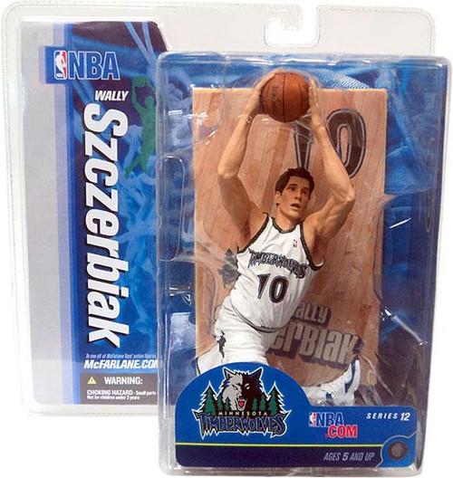 McFarlane Toys NBA Minnesota Timberwolves Sports Picks Series 12 Wally Szczerbiak Action Figure
