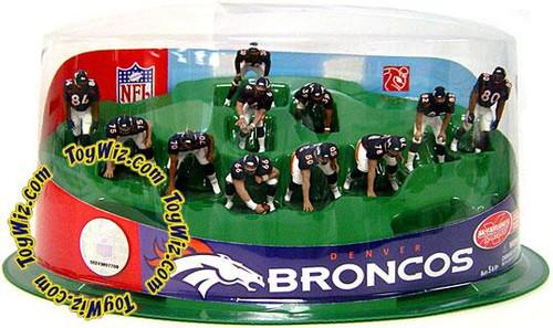 McFarlane Toys NFL Sports Picks Ultimate Team Sets Denver Broncos Offense 2-Inch Team Set