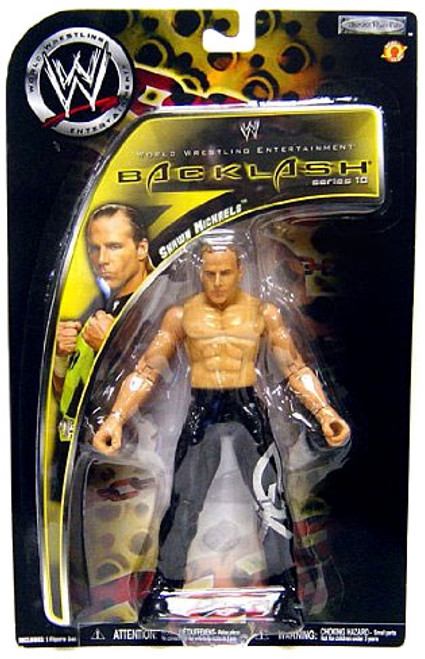 WWE Wrestling Backlash Series 10 Shawn Michaels Action Figure