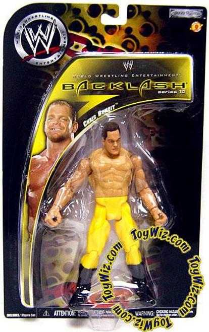 WWE Wrestling Backlash Series 10 Chris Benoit Action Figure