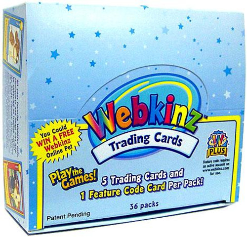 Webkinz Trading Cards Series 1 Booster Box
