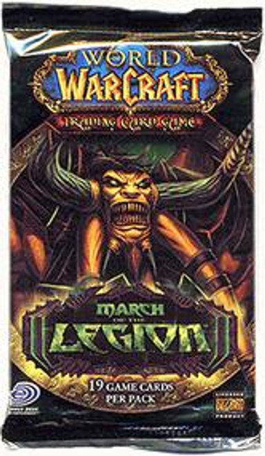 World of Warcraft Trading Card Game March of the Legion Booster Pack