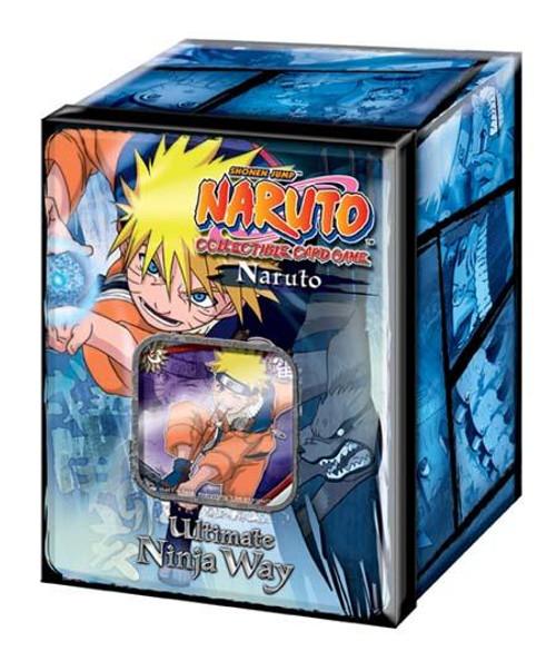Card Game Ultimate Ninja Way Naruto Uzumaki Collector Tin