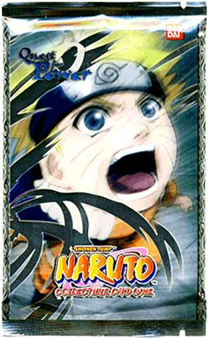 Naruto Card Game Quest for Power Booster Pack