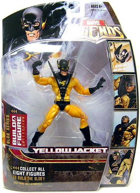 Marvel Legends Series 17 Blob Yellowjacket Action Figure [Variant]