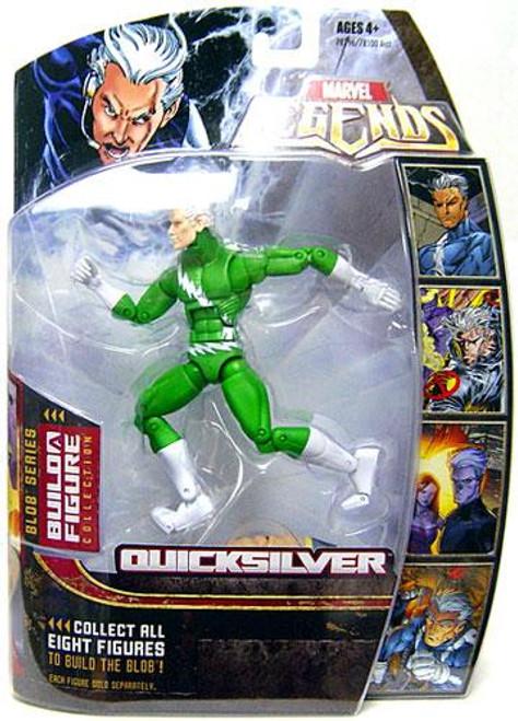 Marvel Legends Series 17 Blob Quicksilver Action Figure [Green Variant]