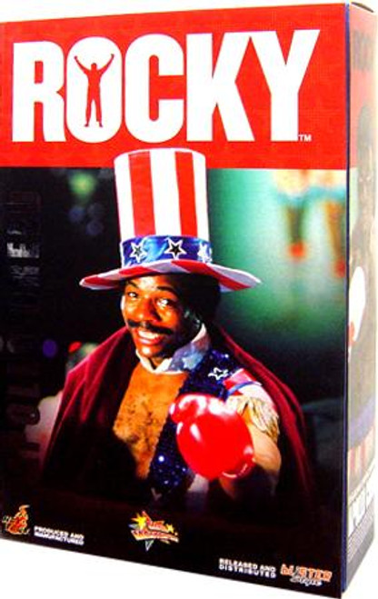 Rocky Movie Masterpiece Apollo Creed 1/6 Collectible Figure