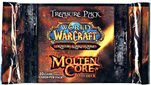 World of Warcraft Trading Card Game Molten Core Treasure Pack