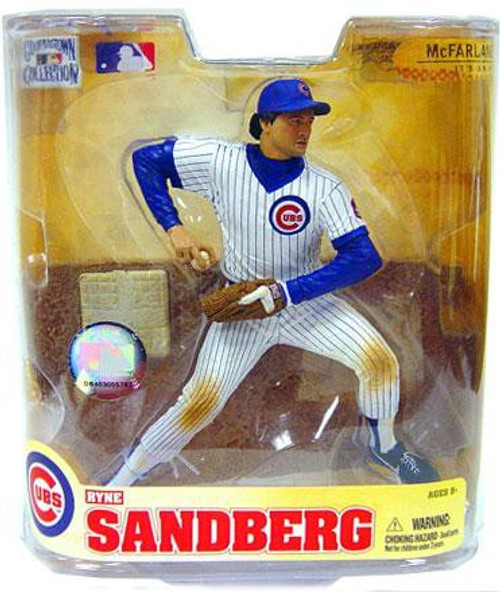 McFarlane Toys MLB Chicago Cubs Cooperstown Collection Series 5 Ryne Sandberg Action Figure [White Jersey]