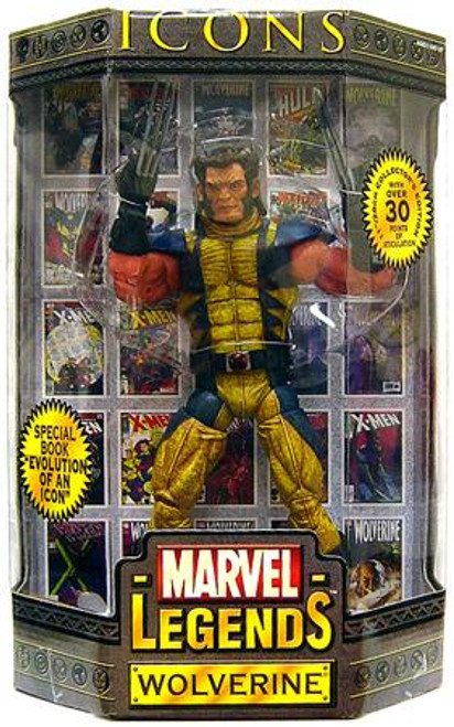 Marvel Legends Icons 12 Inch Series 1 Wolverine Action Figure [Mask Down Variant]