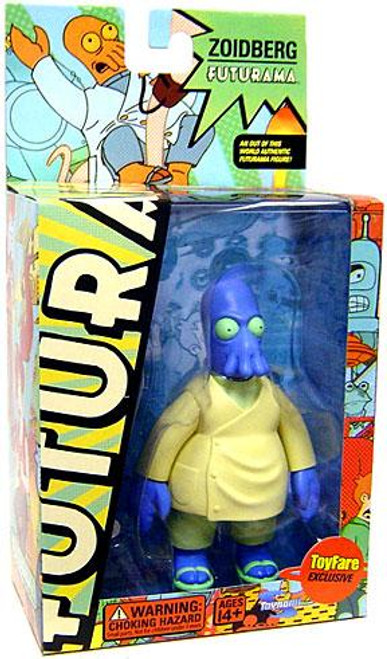 Futurama Dr. Zoidberg Exclusive Action Figure [Blue Version]