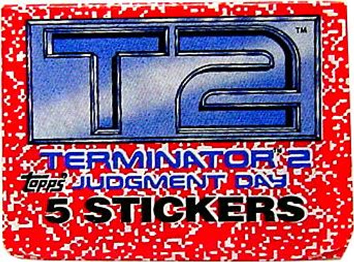 The Terminator Terminator 2 Judgment Day Sticker Pack