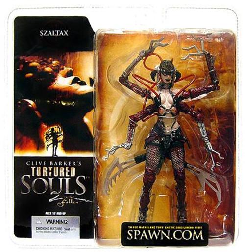 McFarlane Toys Clive Barker's Tortured Souls Tortured Souls 2 The Fallen Szaltax Action Figure