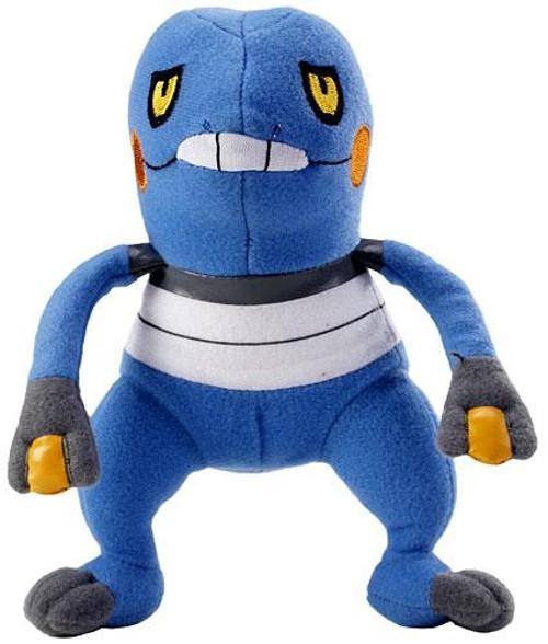 Pokemon Mini Plush Croagunk 6-Inch Plush