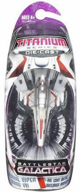 Battlestar Galactica Titanium Series Colonial Viper Mark VII Diecast Vehicle [Red]