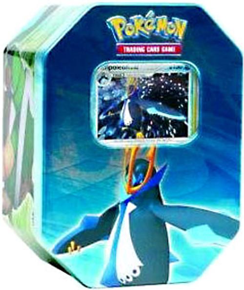 Pokemon Diamond & Pearl 2007 Holiday Empoleon Collector Tin