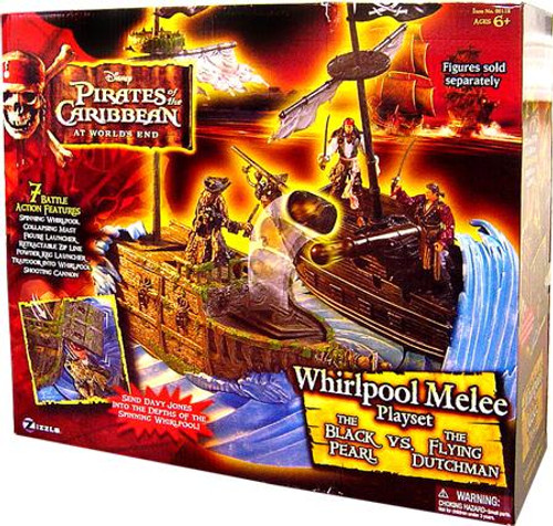 Pirates of the Caribbean At World's End Whirlpool Melee Playset