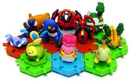 Pokemon Japanese Connecting Figures Series 1 Set of 10 Connecting PVC Figures