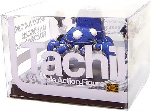 Ghost in the Shell Stand Alone Complex Tachikoma PVC Figure [With Motoko]