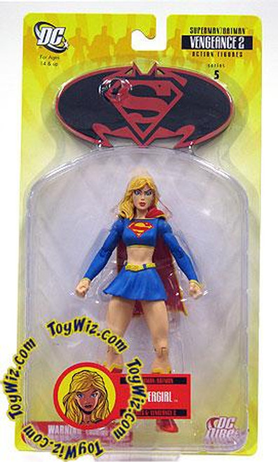 DC Superman Batman Series 5 Vengeance 2 Supergirl Action Figure
