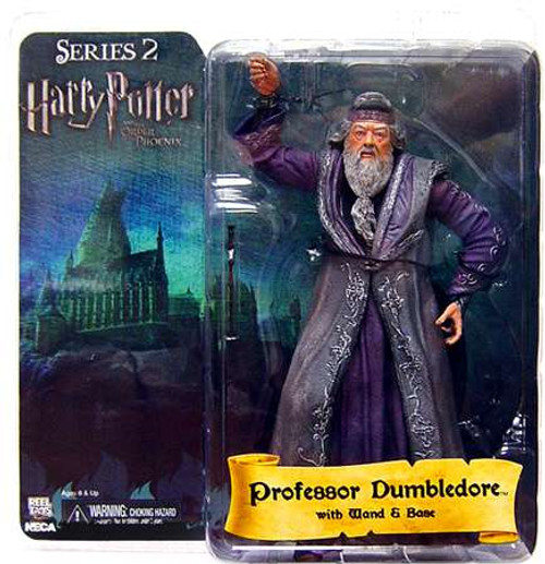 NECA Harry Potter The Order of the Phoenix Series 2 Albus Dumbledore Action Figure