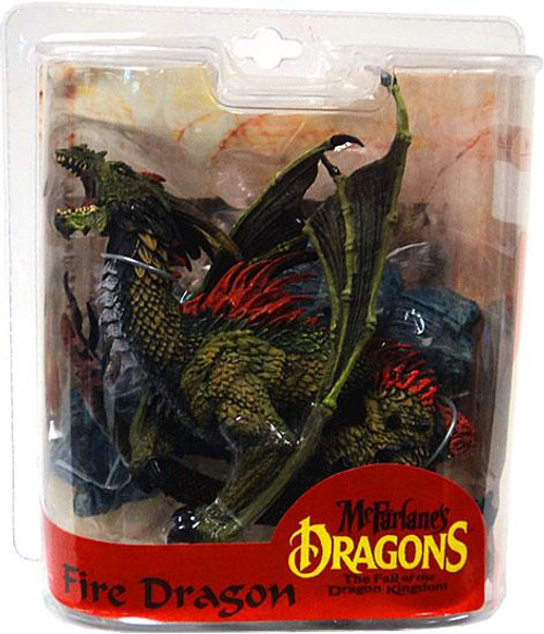 McFarlane Toys McFarlane's Dragons The Fall of the Dragon Kingdom Series 7 Fire Dragon Clan Action Figure