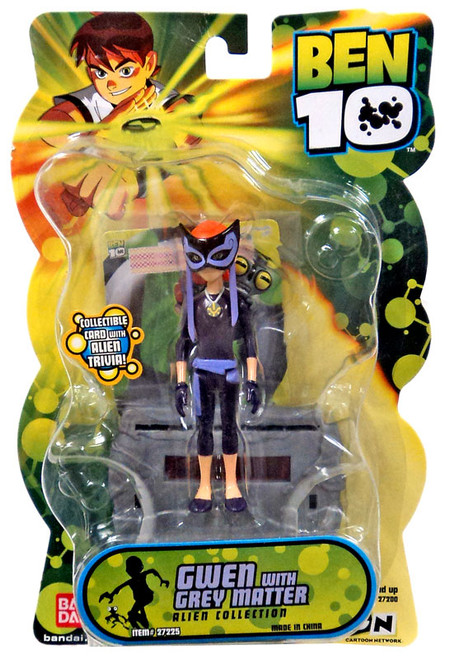Ben 10 Alien Collection Series 2 Gwen with Greymatter Action Figure