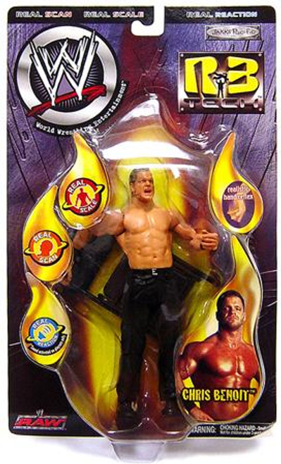WWE Wrestling R3 Tech Series 5 Chris Benoit Action Figure