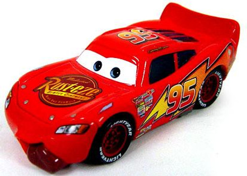Disney Cars Loose Tongue Lightning McQueen Diecast Car [Loose]