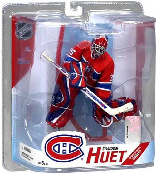 McFarlane Toys NHL Montreal Canadiens Sports Picks Series 16 Cristobal Huet Action Figure [Red Jersey]
