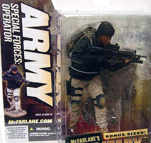 McFarlane Toys McFarlane's Military Series 5 Army Special Forces Special Operator Action Figure [Unmasked Variant]
