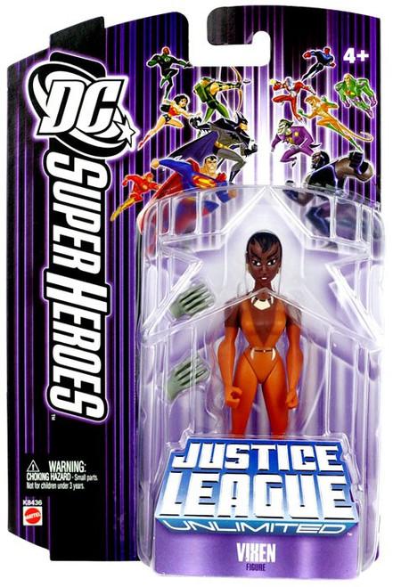 DC Justice League Unlimited Super Heroes Vixen Action Figure [Purple Card]