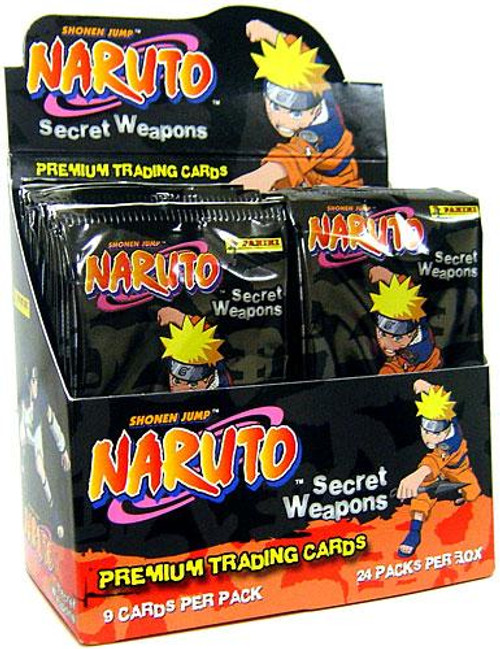 Naruto Secret Weapons Trading Card Box
