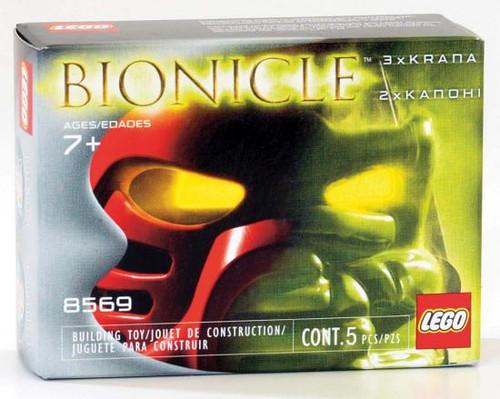 LEGO Bionicle Krana & Kanohi Masks Set #8569