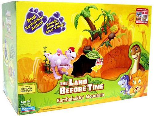 The Land Before Time Earthshakin' Mountain Playset
