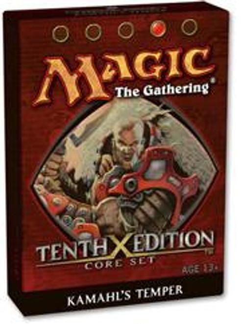 MtG 10th Edition Kamahl's Temper Theme Deck [Sealed Deck]