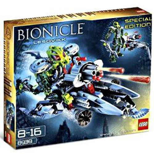 LEGO Bionicle Lesovikk Exclusive Set #8939