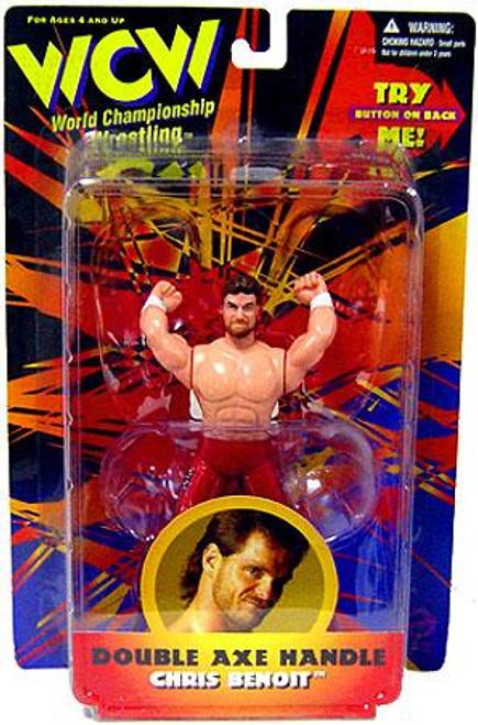 WWE Wrestling WCW World Championship Wrestling Double Axe Handle Chris Benoit Action Figure