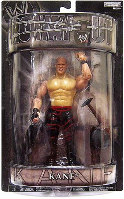 WWE Wrestling Pay Per View Series 15 No Way Out Kane Action Figure