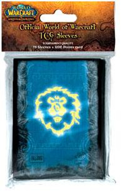 World of Warcraft Card Supplies Alliance Card Sleeves [75 ct]