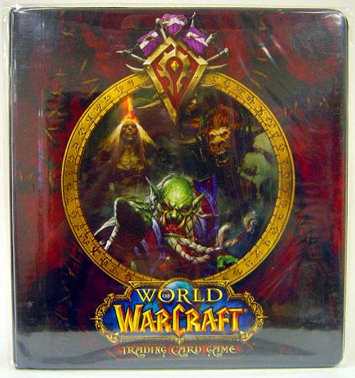 World of Warcraft Card Supplies Horde 2-Inch D-Ring Binder