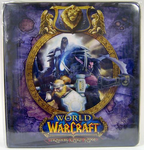 World of Warcraft Card Supplies Alliance 2-Inch D-Ring Binder