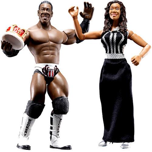 WWE Wrestling Adrenaline Series 26 Booker T & Queen Sharmel Action Figure 2-Pack