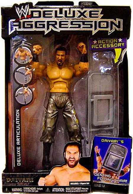 WWE Wrestling Deluxe Aggression Series 10 Daivari Action Figure