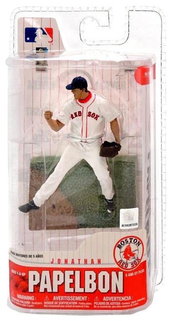 McFarlane Toys MLB Boston Red Sox Sports Picks 3 Inch Mini Series 6 Jonathan Papelbon Mini Figure