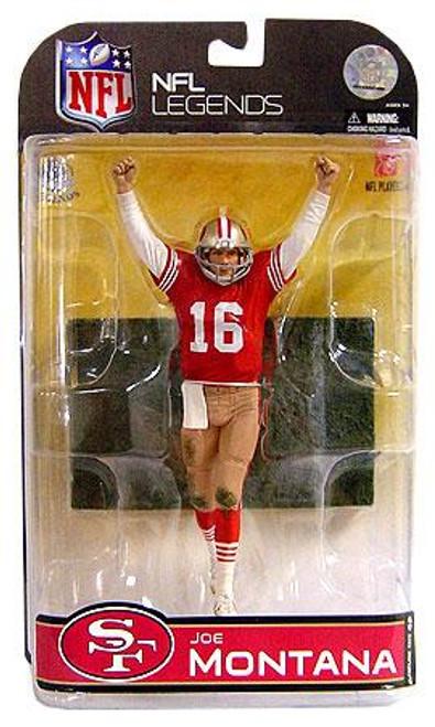 McFarlane Toys NFL San Francisco 49ers Sports Picks Legends Series 4 Joe Montana Action Figure [Dirty Uniform]