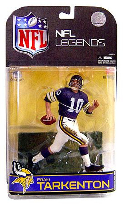 McFarlane Toys NFL Minnesota Vikings Sports Picks Legends Series 4 Fran Tarkenton Action Figure [Purple Sleeves]