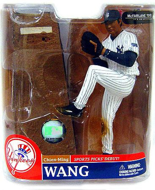 McFarlane Toys MLB New York Yankees Sports Picks Series 20 Exclusive Chien-Ming Wang Exclusive Action Figure