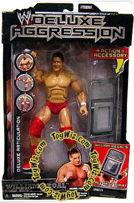 WWE Wrestling Deluxe Aggression Series 11 William Regal Action Figure